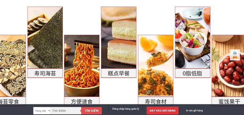 Cửa hàng đa dạng các loại đồ ăn bạn có thể trải nghiệm