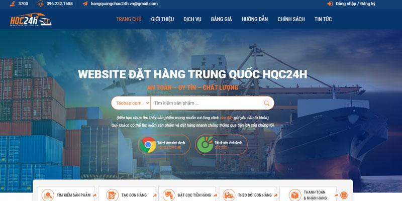 Hướng dẫn tìm hàng Taobao và đặt hàng trên website Hàng Quảng Châu 24h