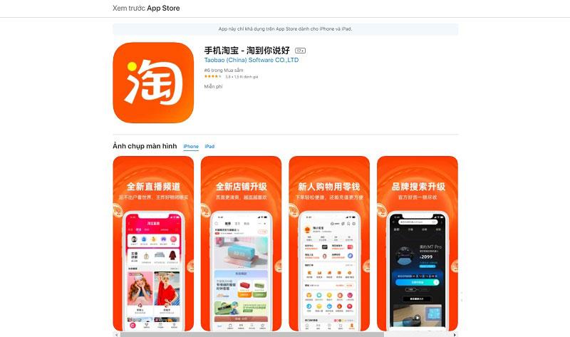 Mua hàng Quảng Châu qua app order taobao chưa bao giờ đơn giản đến vậy