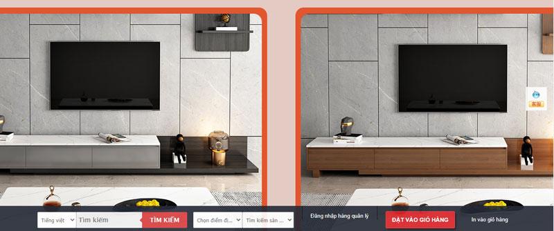 Nội thất Taobao có thiết kế hiện đại, tinh tế