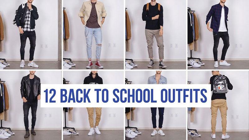 Quần áo nam đa dạng phong cách