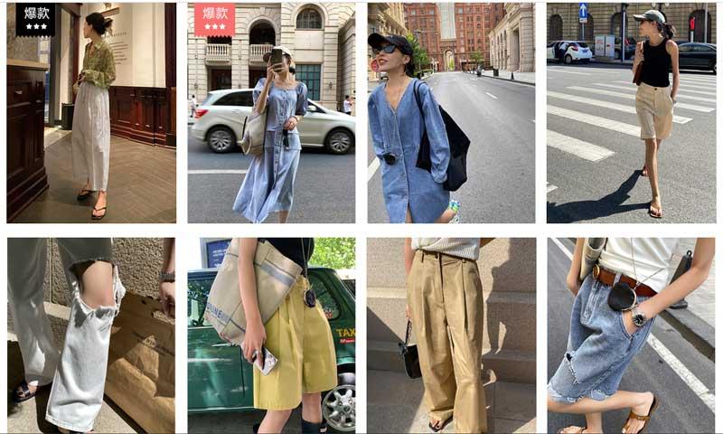 Hàng thời trang luôn nằm trong top list những ngành hàng có nhiều sản phẩm độc lạ