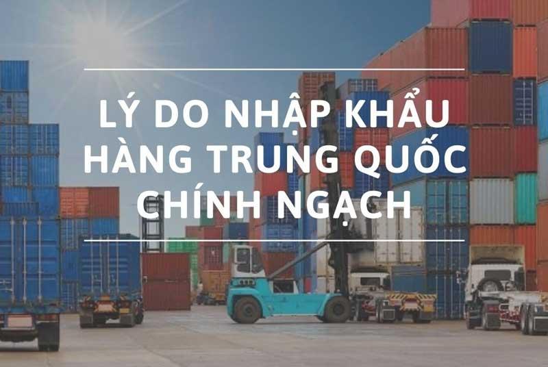 Nhập hàng Trung Quốc chính ngạch được nhiều doanh nghiệp, tổ chức sử dụng