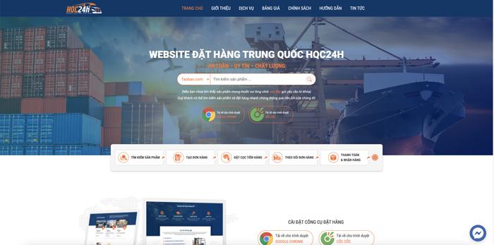 Dịch vụ ký gửi hàng hóa của hangquangchau24h